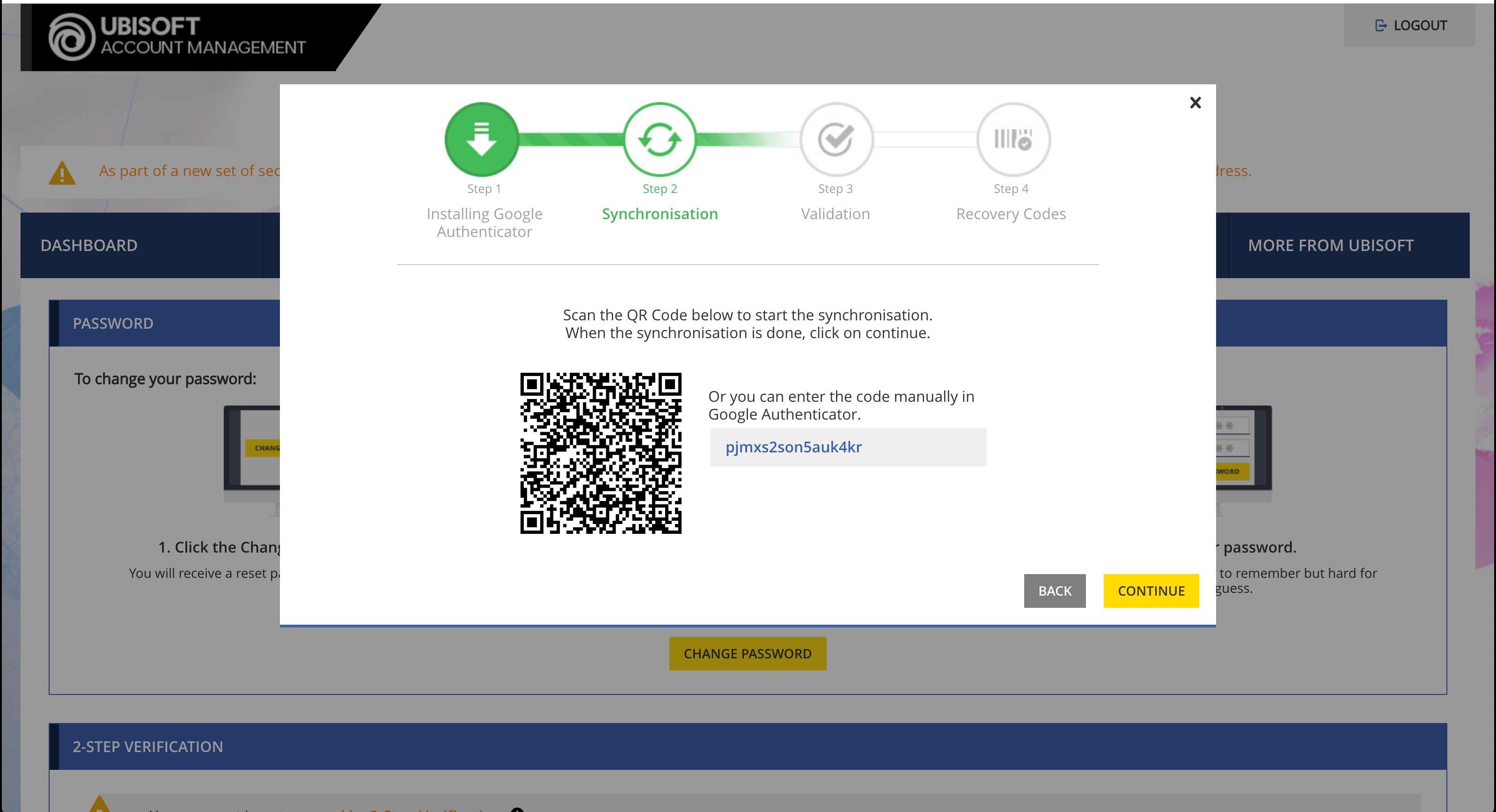 ubisoft account password reset email