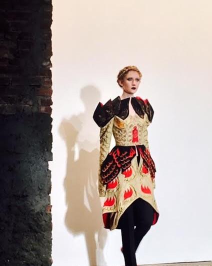 Rohitava Banerjee The Five Rivers Fall/ Winter Run Of Show during #NYFW #fall16 @rohitavanyc 4