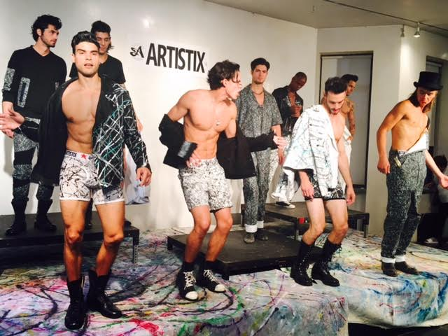 ARTISTIX 2017 Men's Fashion Line Presentation During #NYFWM @nyfw @artistixjeans 1
