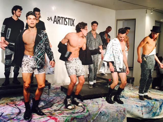 ARTISTIX 2017 Men's Fashion Line Presentation During #NYFWM @nyfw @artistixjeans 1