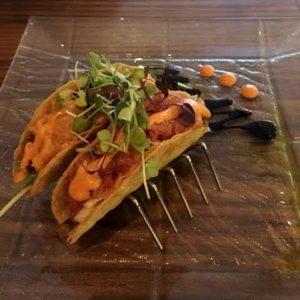 Natsumi Tapas Sashimi Tacos