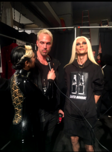 FW17 The Blonds partners Phillipe and David Blond Backstage