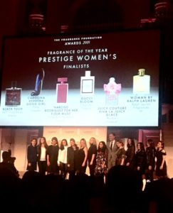 The Fragrance Foundation Finalists luncheon NYC #TFFAwards |