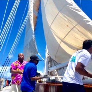 Sail the BVI's Barefoot on the Windjammer S/V Mandalay