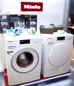Miele Duo TwinDos W1 Washer & T1 Tumble Dryer Laundry Innovation