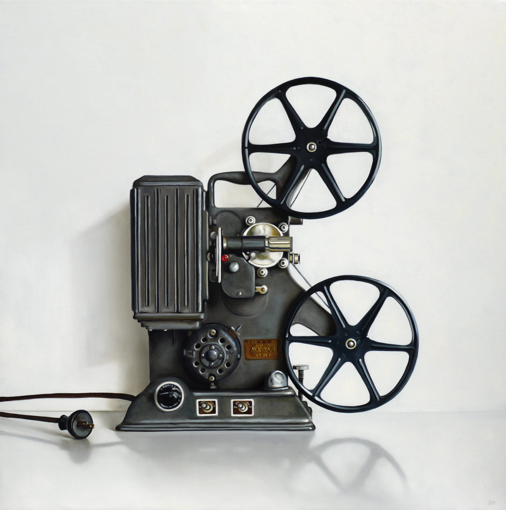 Keystone 8MM Film Projector by Christopher Stott