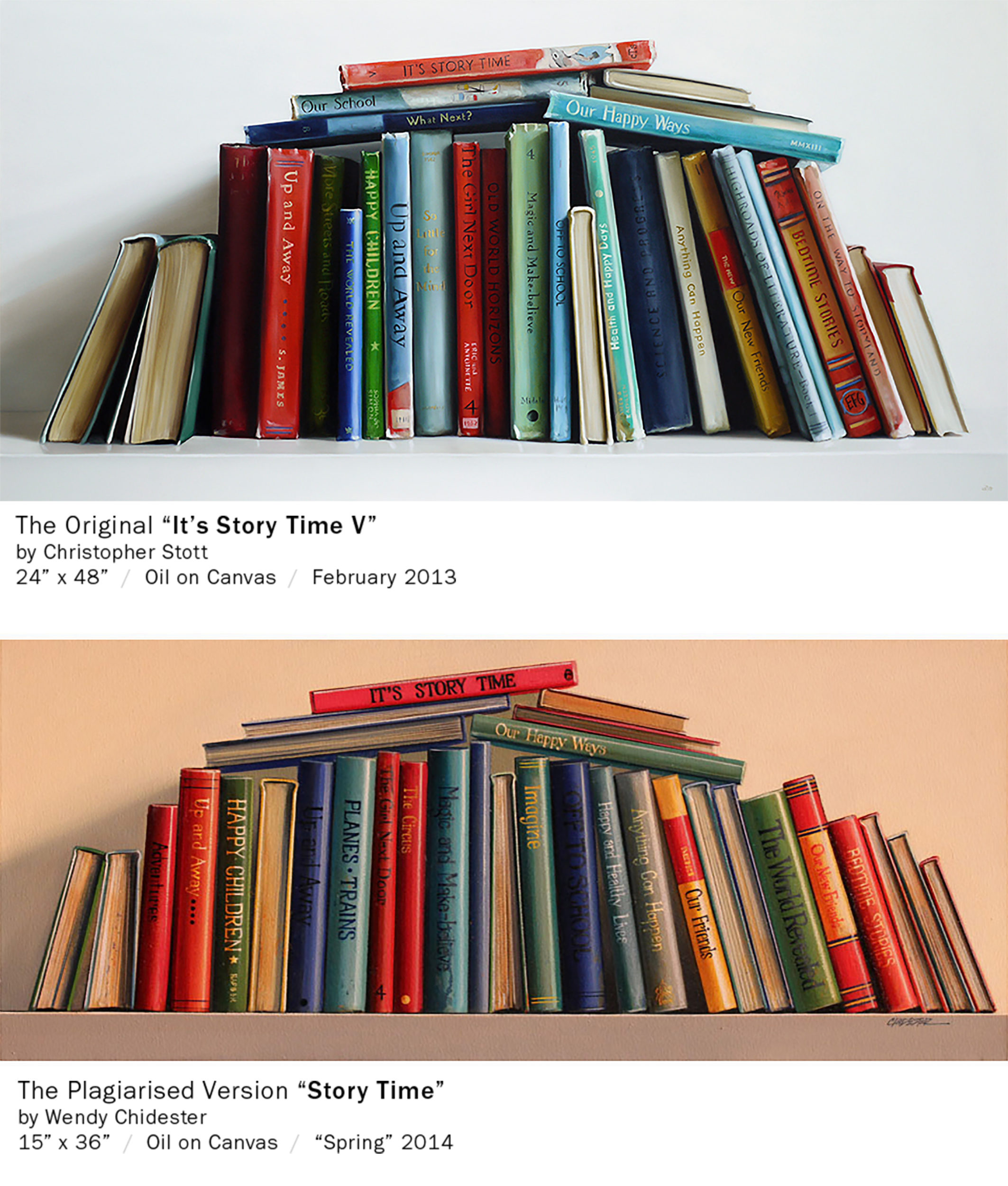 Wendy Chidester Plagiarism of Christopher Stott