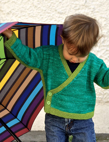 Rain City Baby knitting pattern designed by Holli Yeoh
