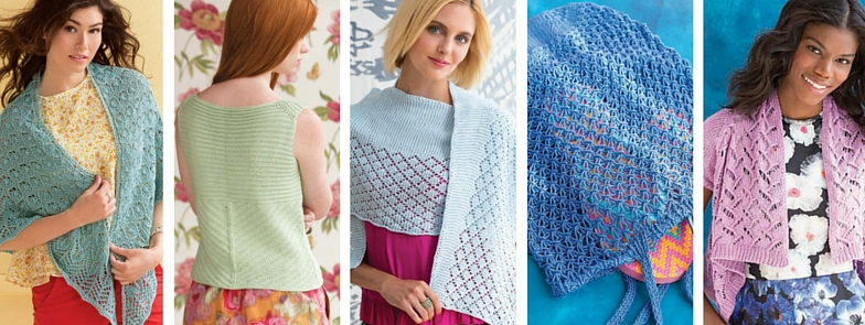 Knitting patterns by Holli Yeoh | 60 Quick Cotton Knits