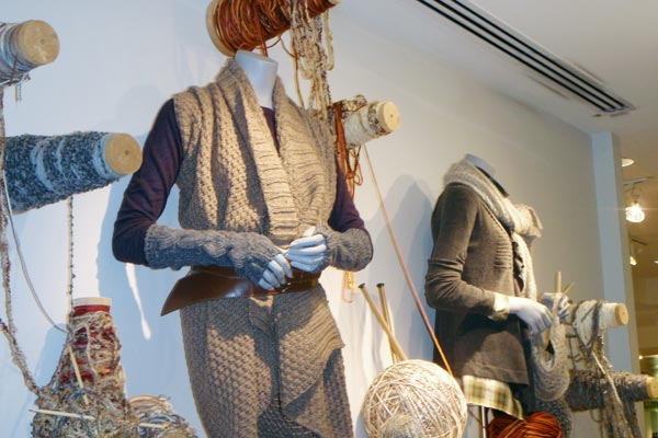 Wordless Wednesday – Fall Display at Holt Renfrew