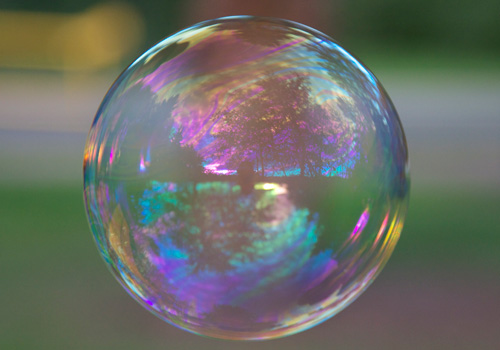 Wordless Wednesday – Bubbles