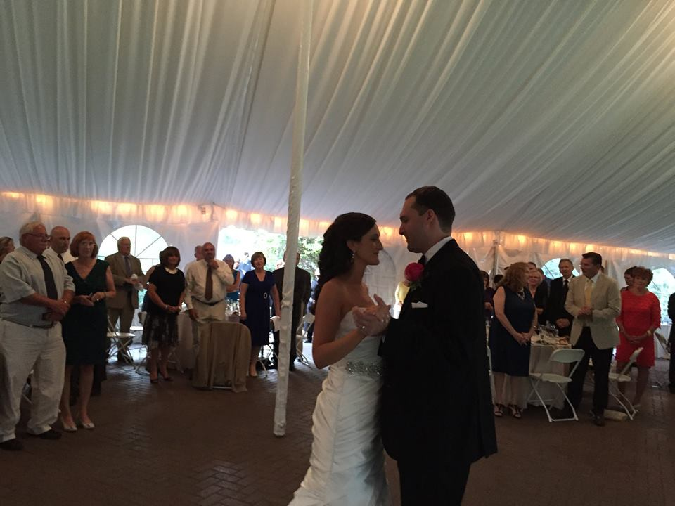 commander's mansion weddings, watertown ma wedding dj, boston wedding dj, wedding djs