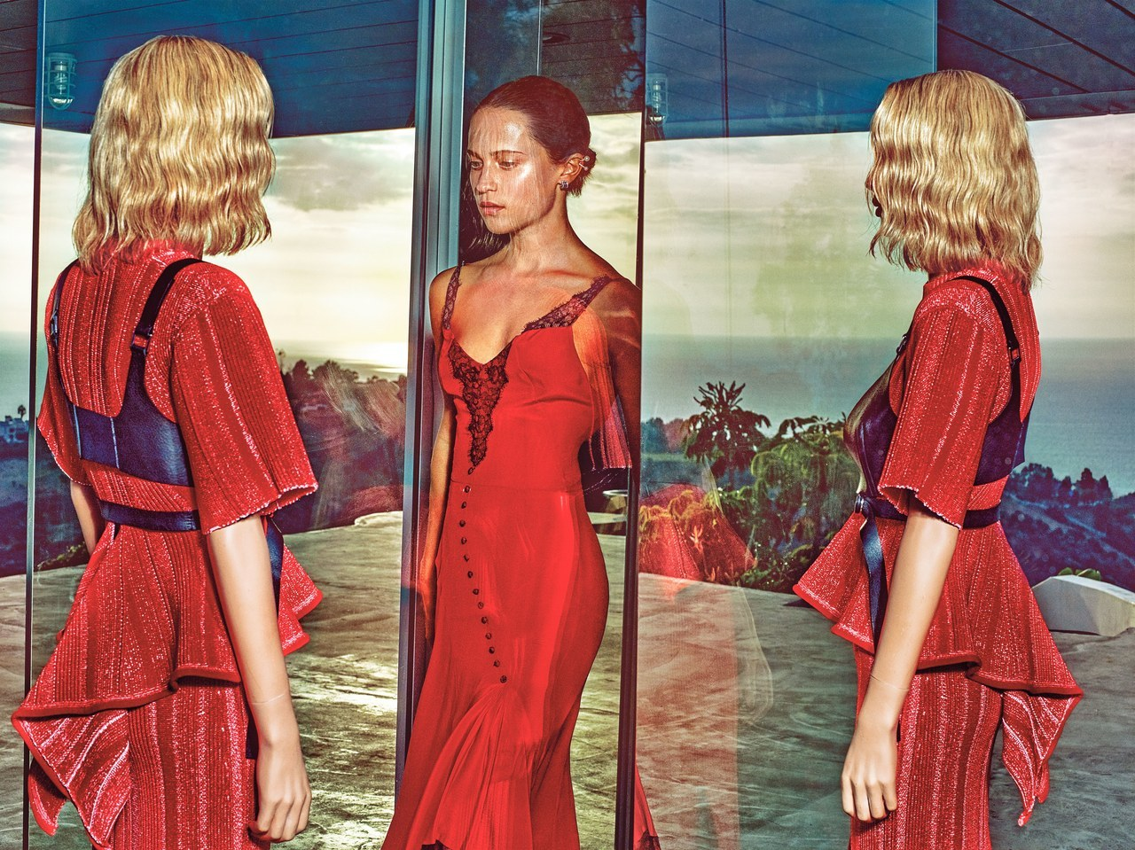 Vogue: Alicia Vikander - Love & PR: Fashion Media X Fashion