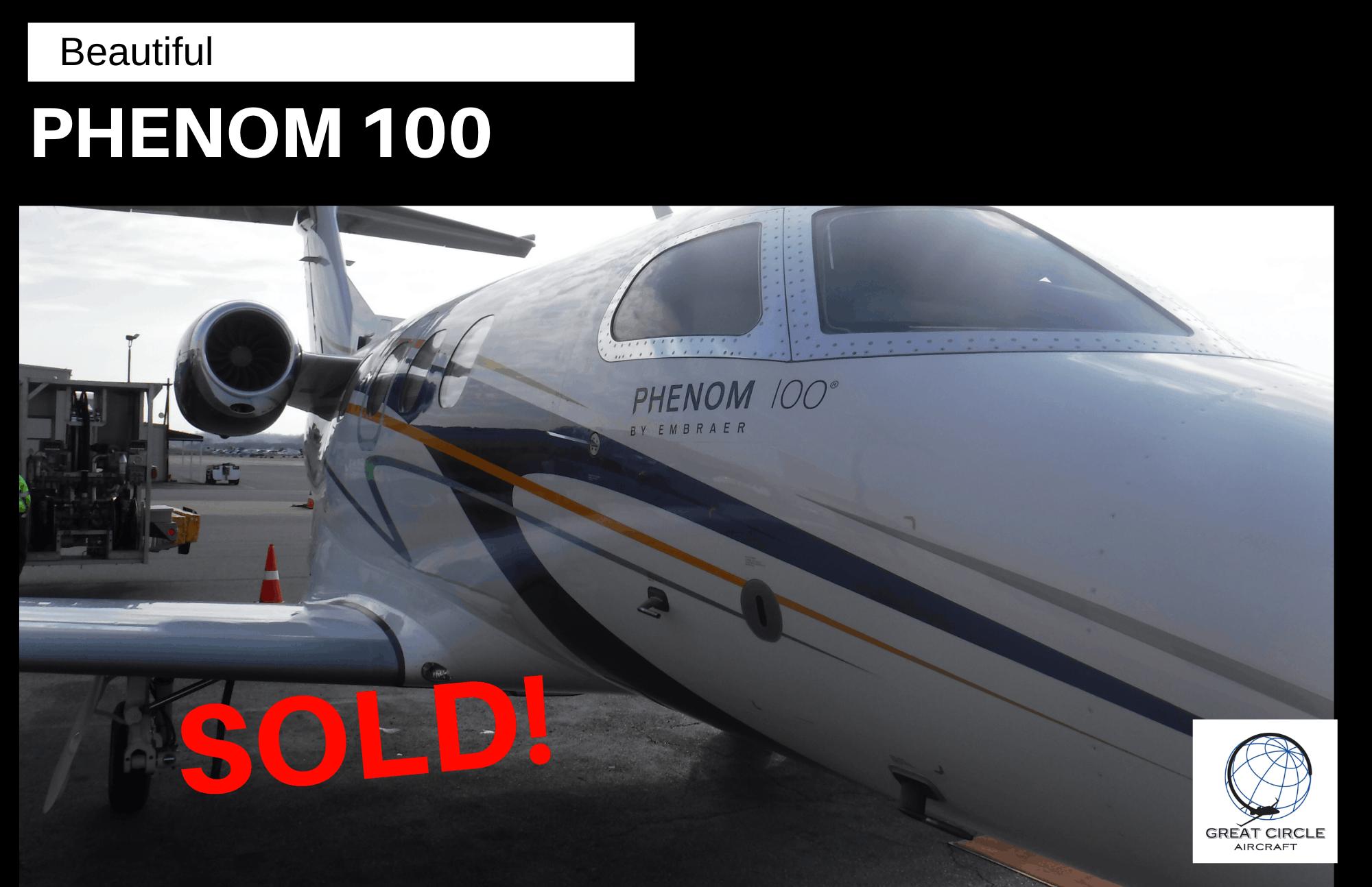 Phenom 100 - Sold