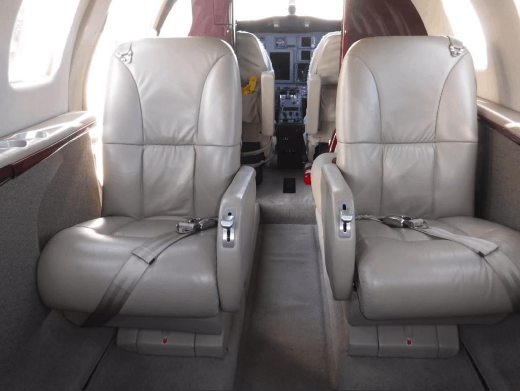 Citation CJ1+ Interior Aft Facing Seats