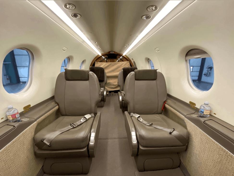 Pilatus PC 12 Interior