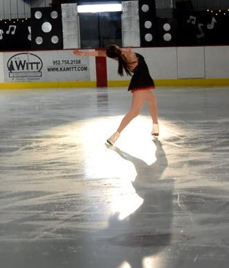 ice dancer McKenzie Trewartha | www.juliesaffrin.com