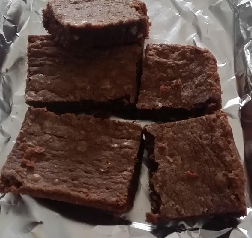 Gert's Fantastic Brownies   https://juliesaffrin.com