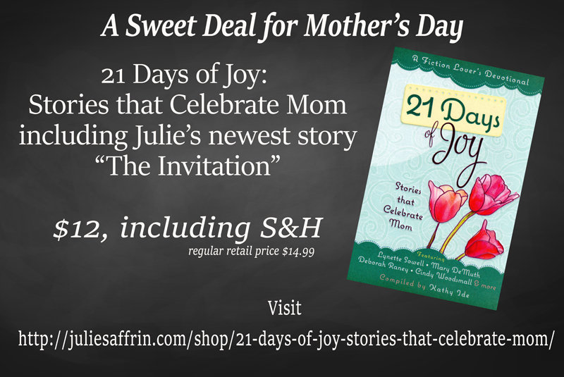 https://juliesaffrin.com/shop/21-days-of-joy-stories-that-celebrate-mom/