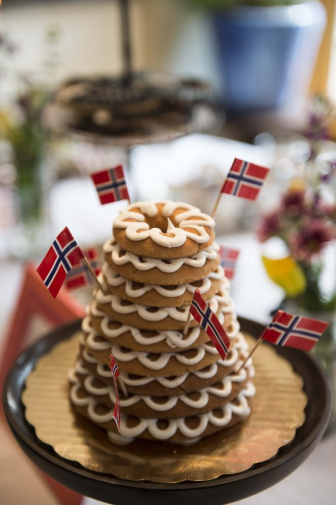 Kransekake. Photo Credit: Krister Myrlønn