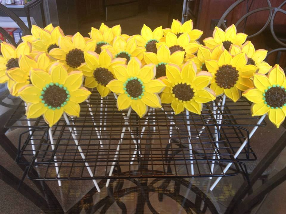 Sunflowers made by Janice Thompson