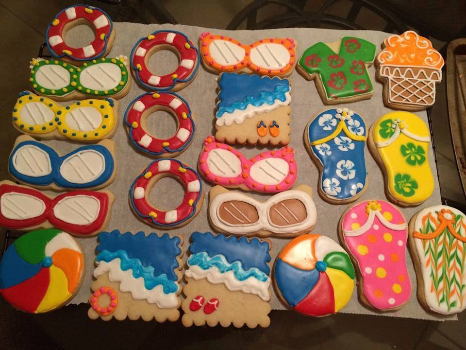 Summertime Cookies by Janice Thompson