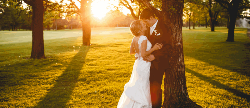 Jake and Jenny on their wedding day, May 21, 2016