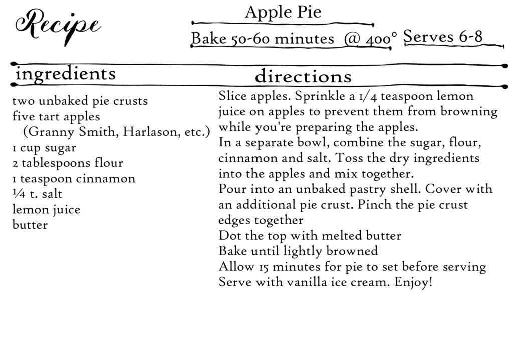 Apple Pie Recipe | https://juliesaffrin.com