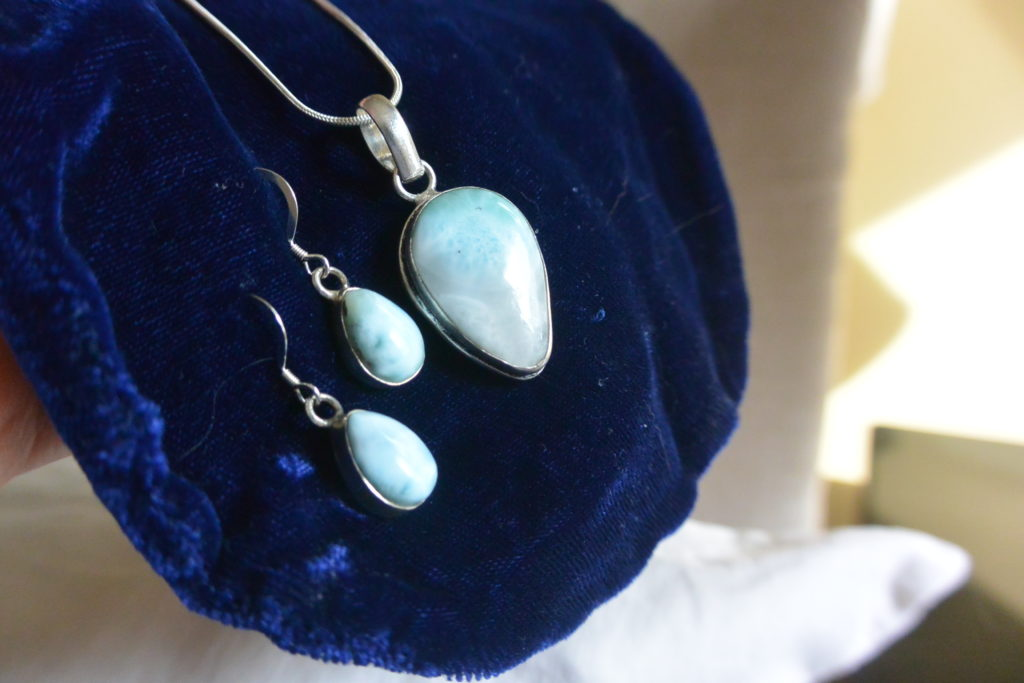 Larimar jewelry found on Key West