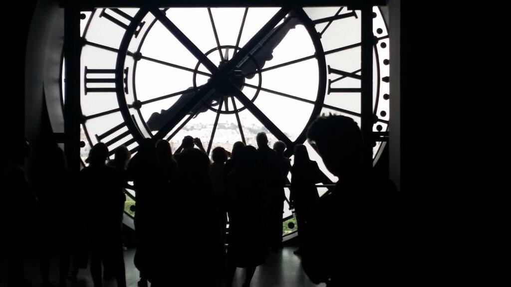 Clock at L'Orangerie