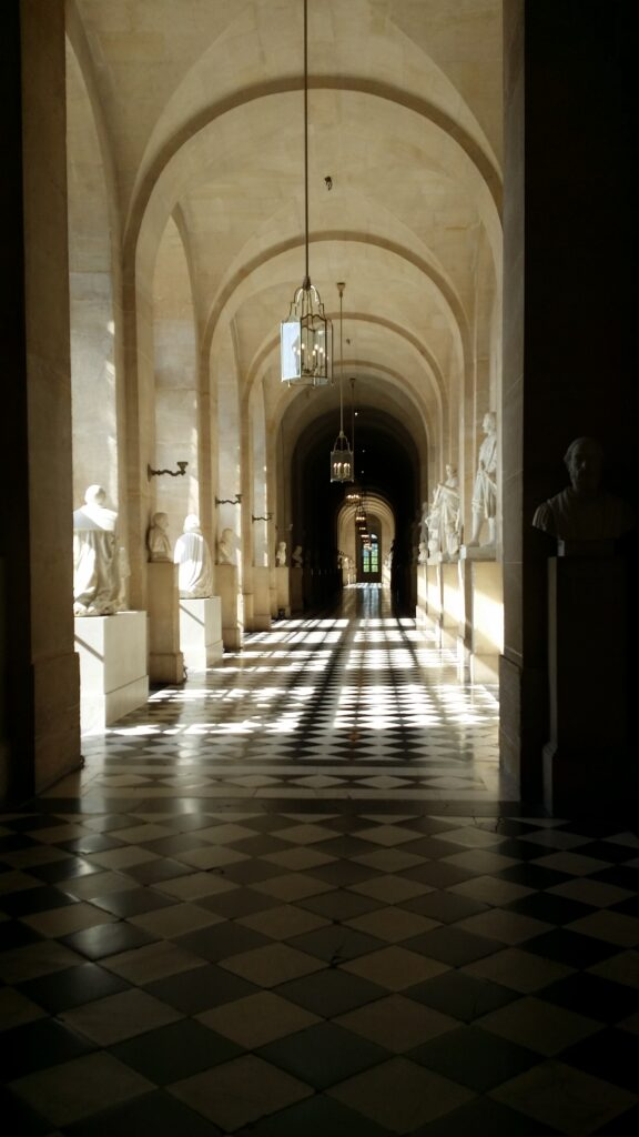 Just another hallway in Palace Versaille