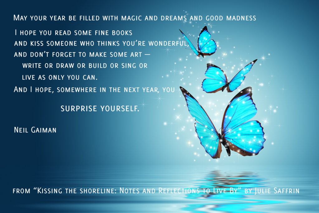 Neil Gaiman Quote Surprise Yourself