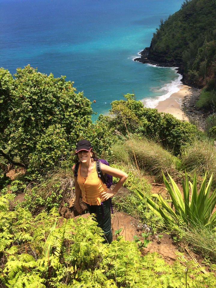 Hiking to Hanakoa