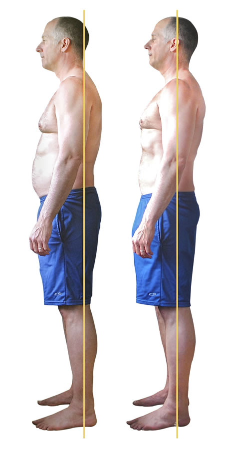 Roger-Before and After one YogAlign class