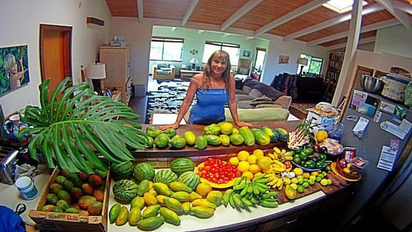 Tropical fruit feast