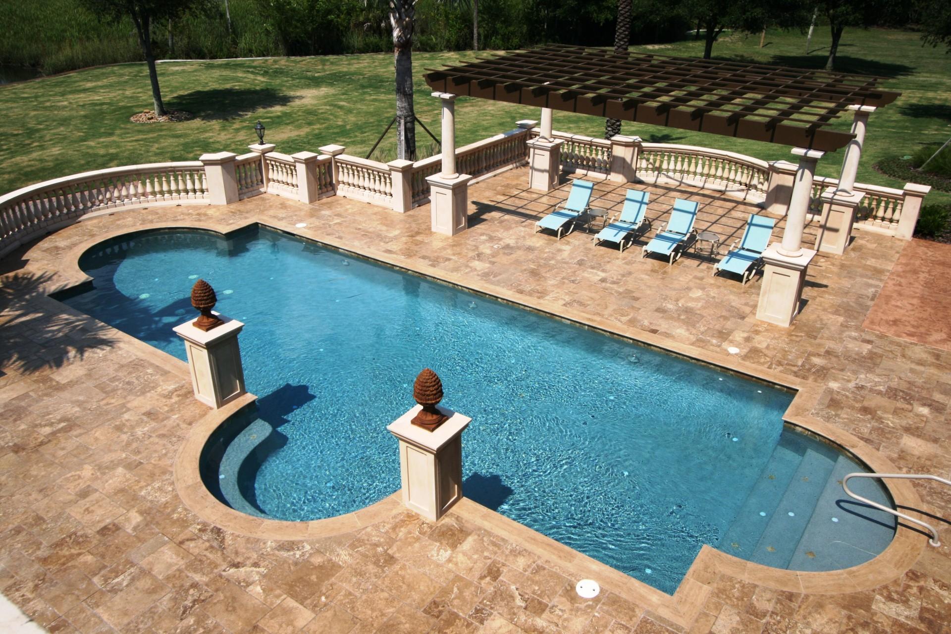 Damron Pool and Trellis