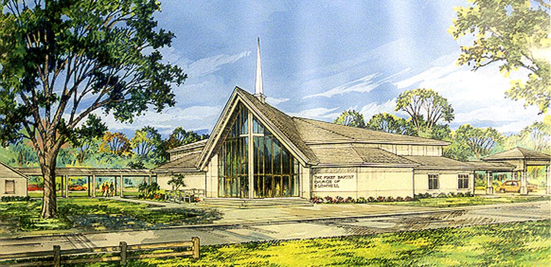 First Baptist Bushnell Rendering 01