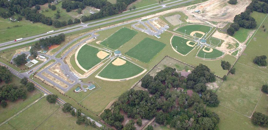 Wrigley Fields SE Aerial