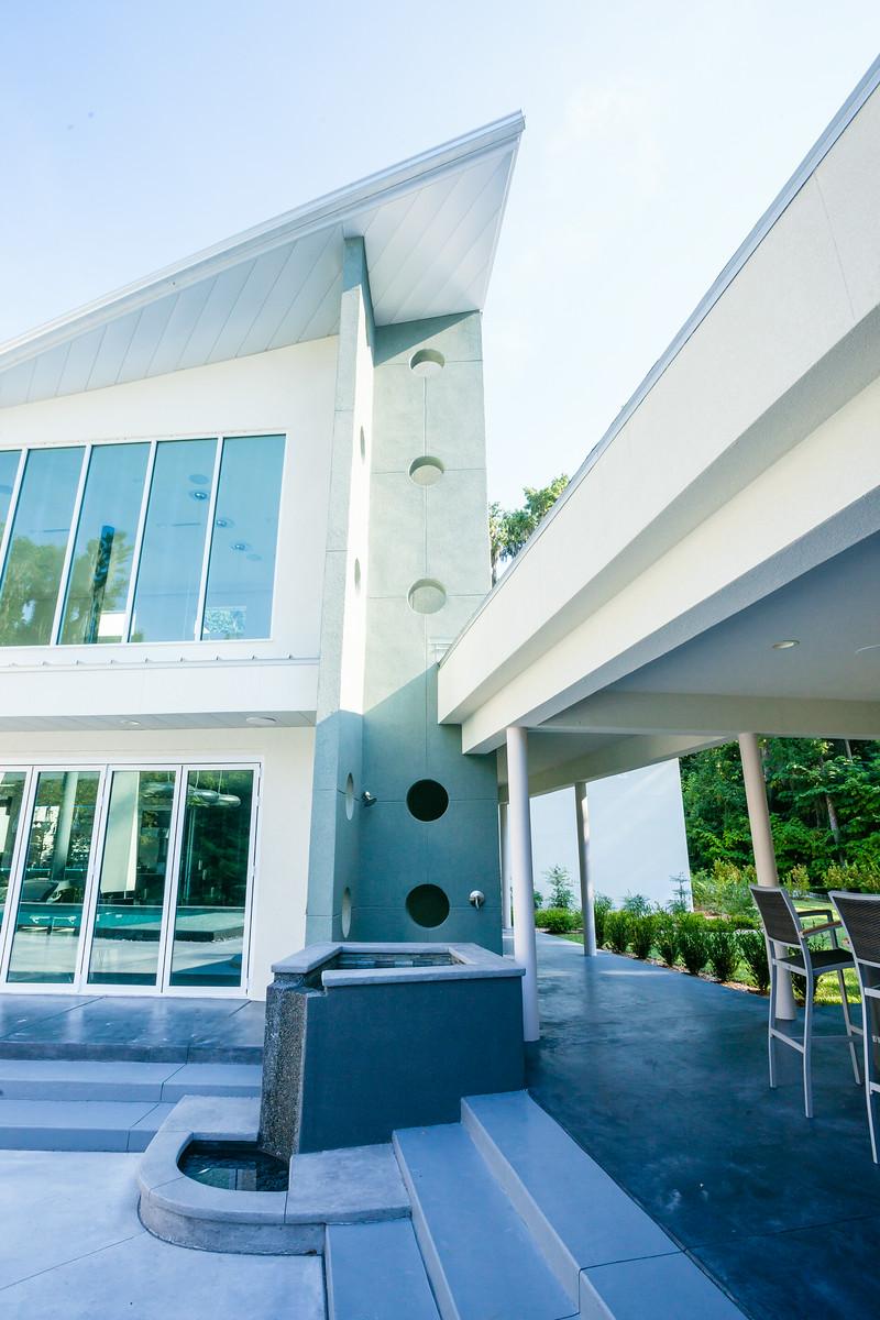 Patio Details of Chandra Home