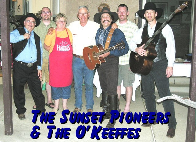 Sunset Pioneers sing for their supper