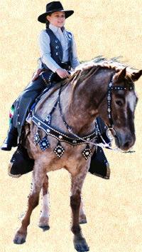 Calena On Horseback