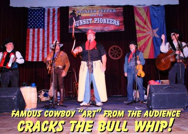 Famous bull whipper