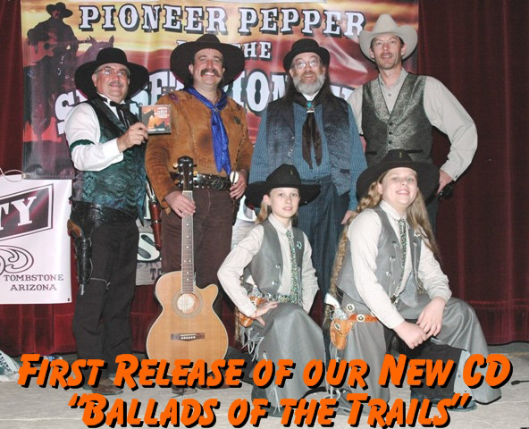 Pioneer Pepper brings the Little House on the Prairie cast and western film stars on stage at the Western Film Festival in Tombstone