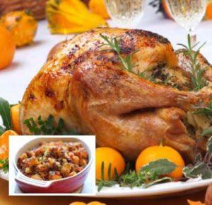 Receta para Thanksgiving