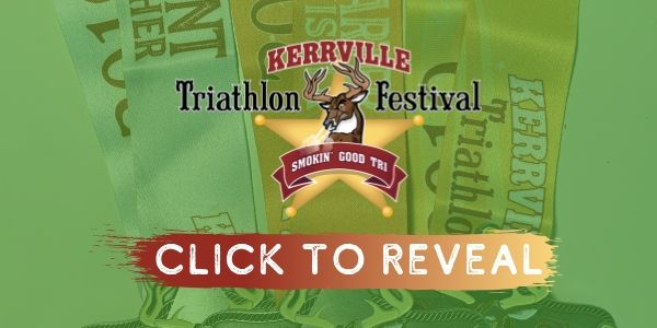 2019 Kerrville Tri Finisher Medal