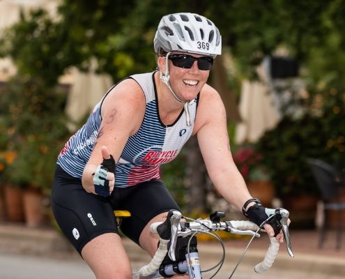 You'll cruise through the Kerrville Tri bike when you follow this free quarter distance triathlon training plan!