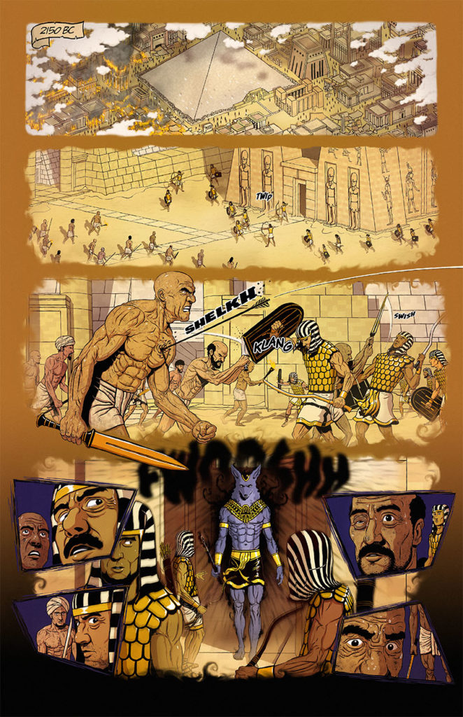 Anubis: Dog of Death #1 - Page 1