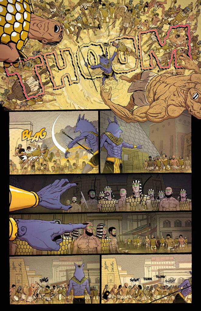 Anubis: Dog of Death #1 - Page 4