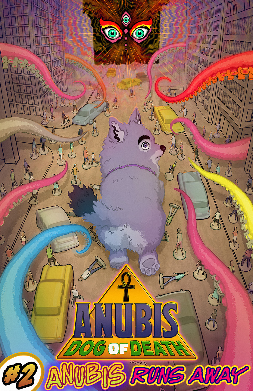 Anubis: Dog of Death - Part 2, Cover