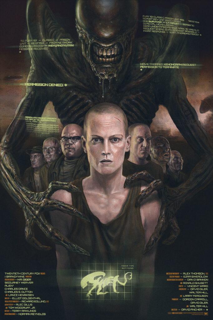 Aliens 3 Alternative Poster